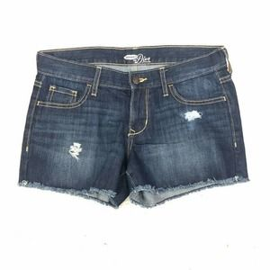 Old Navy The Diva Jean Shorts Distressed Size 2